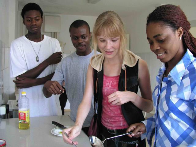 Нигерийцы во Владивостоке