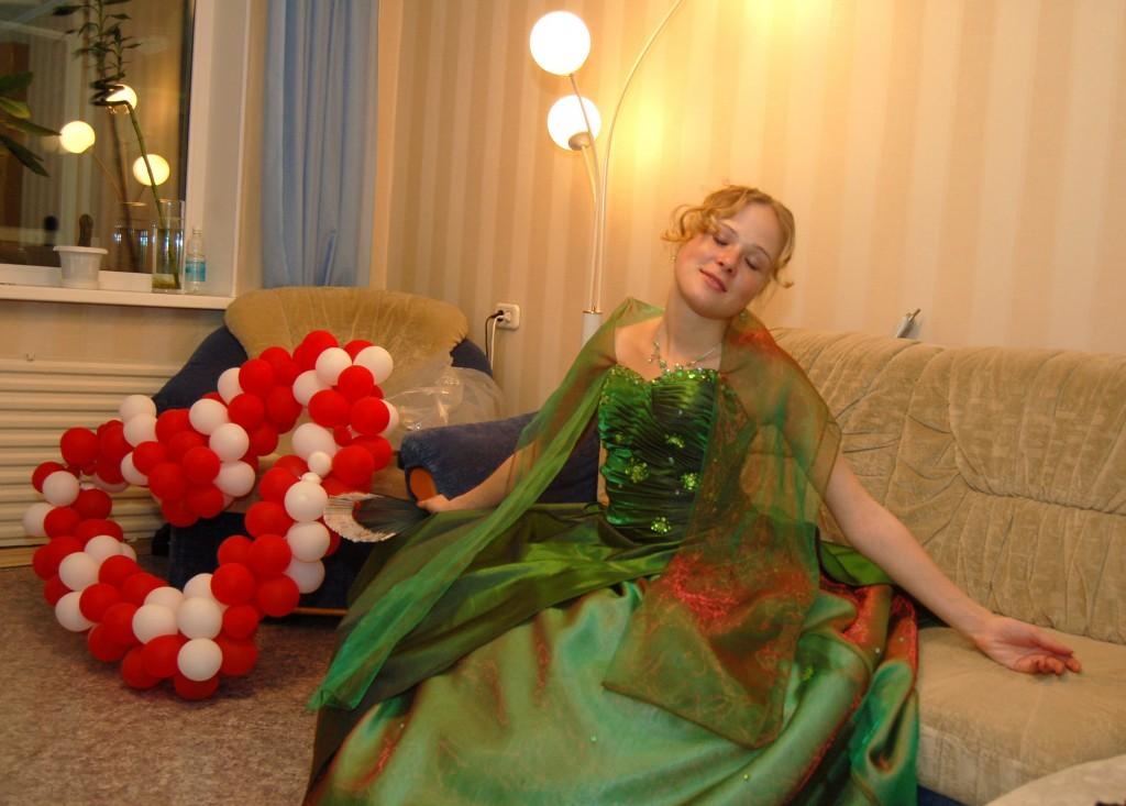 Анна перед балом