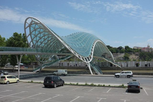Тбилиси, мост Мира