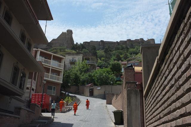 Тбилиси, крепость Нарикала