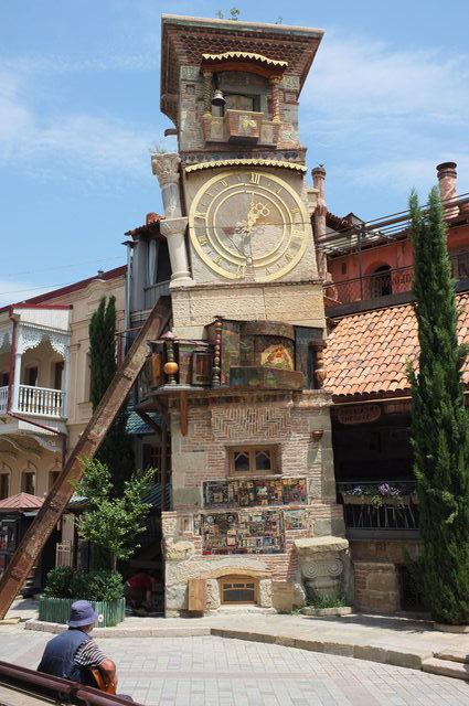 Тбилиси, кафе Габриадзе