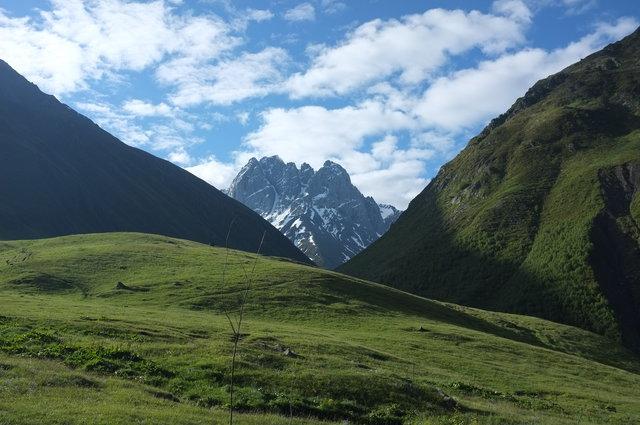 Гора Чаухи в Грузии