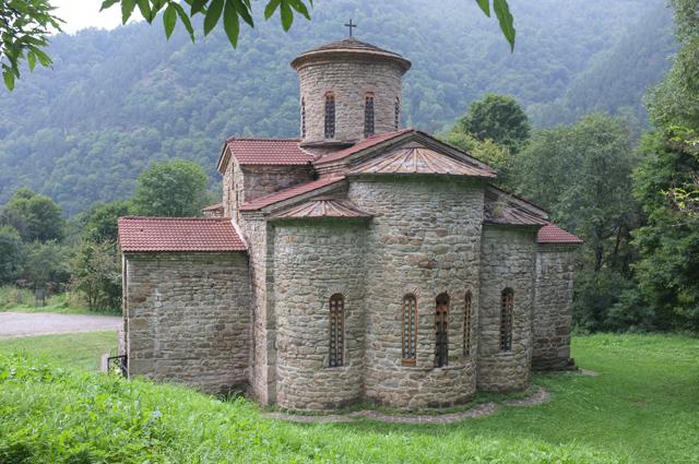 Северный храм, Нижне-Архызское городище