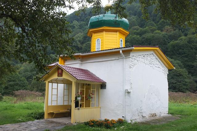 Южный Ильинский храм, Архыз